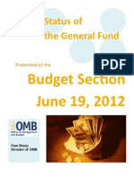 Budget Section 6-19-12