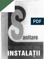 Manualul instalatorului SANITARE