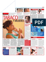 Daño del tabaco en mujeres