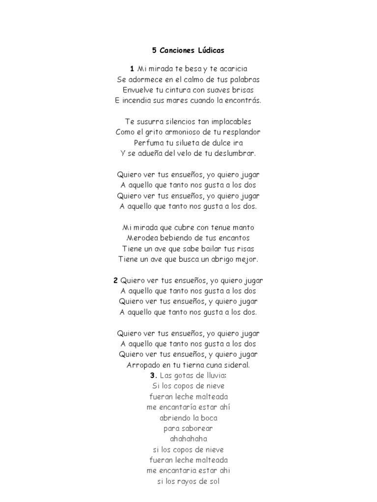 562c9219a 5 Canciones Lúdicas