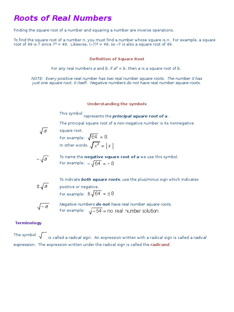 61 63 notes square root fraction mathematics biocorpaavc Image collections