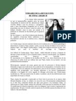 ANIVERSARIO DE LA REVOLUCIÓN  de tupac amaru 2