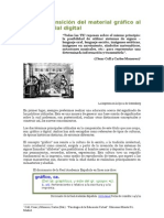 La transición del material gráfico al material digital - Valeria Dellavedova