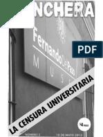 Revista Trinchera No. 02 - La Censura Universitaria