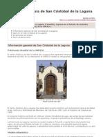 Sancristobaldelalaguna Www.guiarte.com