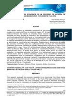 ANÁLISE DE VIABILIDADE ECONÔMICA DE UM PROCESSO DE SECAGEM DE MADEIRA PARA EMPRESAS MADEIREIRAS DO SUDOESTE PAULISTA
