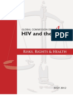 Risks, Rights & Health - GLOBAL COMMISSION ON HIV and the LAW