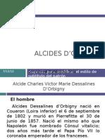 ALCIDES D'ORBIGNY