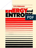 Energy and Entropy (Alekseev, G. N.) (1986) (208p)