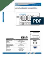 Manual Tecnico de Indicador Dibatec Acero