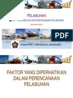 TEBS_Pelabuhan 02_Tinjauan Dalam Perencanaan Pelabuhan