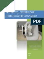 Proyecto Generador Electrico Casero