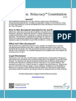 Holacracy Constitution v3.0