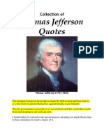 Jefferson Quotes