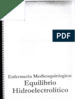 Enfermeria Medicoquirurgica Equilibrio Hidro-electrolitico