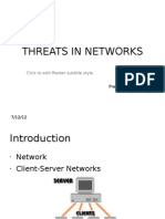 Threats in Networks- Mani