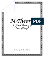 Intro to M - Theory