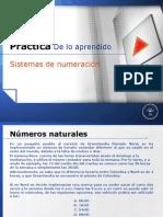 Practica sobre Sistema de los números reales
