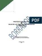 Protocolo Vigilancia Salud Trabajadores Expuestos a Plaguicidas Borrador