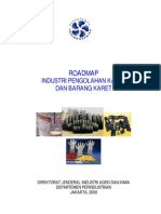 Roadmap Industri Pengolahan Karet Dan Barang Karet