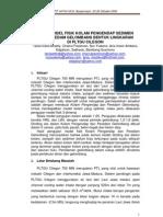 Studi Model Fisik Kolam Pengendap Sedimen Dan Peredam Gelombang Bentuk Lingkaran Di Pltgu Cilegon