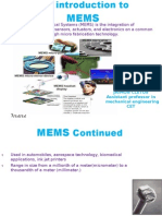 Introduction to MEMS