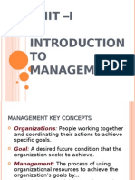 Intro to Mgt