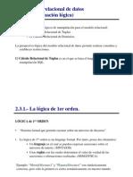 Modelo Relacional de Datos