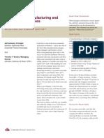 CFA+Cash Flow Manufacturing Wholesale
