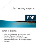 class1-dramaforteachingpurposestn-100220085845-phpapp02