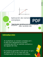 Aplicación de números complejos