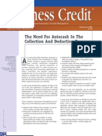 BusinessCredit the Need for AutoCash