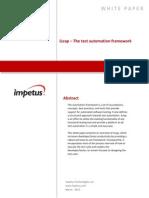 iLeap – Test Automation Framework- Impetus White Paper
