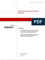 Reducing the Total Cost of Ownership of Big Data- Impetus White Paper