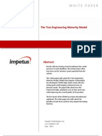 Test Engineering Maturity Model- Impetus White Paper