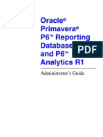 p 6 Reporting Database Admin Guide
