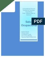Monografia de Salud Ocupacional
