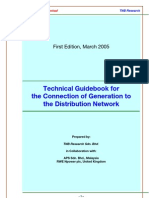 TNB_Tech Guidebook for the Connection of Generation to the Distn Network