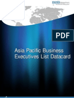 Asia Pacific DataCard