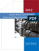 South Africa Tyre Market Forecast and Oppertunities 2017