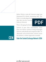 Content Exchange Network product brochure