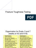 Class 10 - Fracture Toughness Testing