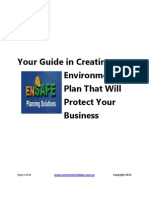A Guide on How to Write an Environmental Plan