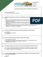 Test Director de autoescuela - Organización y gestión