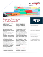 Advanced Procurement in Oracle r12