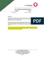 Customer UMTS RF TAN U03.03 Power Control