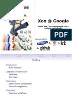 Xena t Google 2011