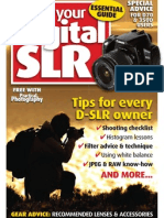 Using your digital SLR