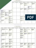 Imp T2 Timetable
