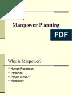 Manpower Planning 1